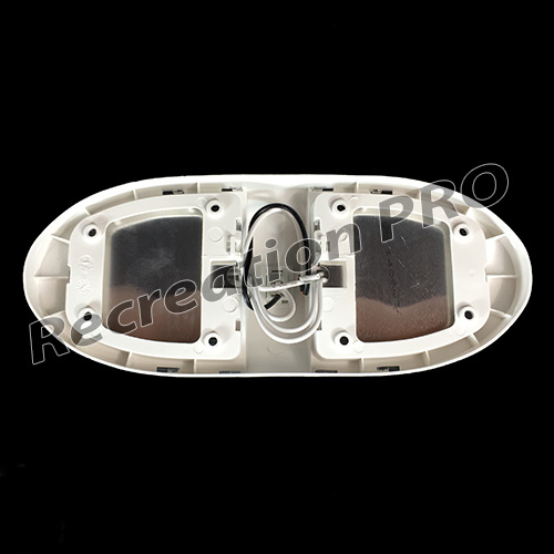 12 Volt Dome Light Fixture: 5 RV 12v DOUBLE EURO STYLE LED DOME LIGHTS CEILING FIXTURE